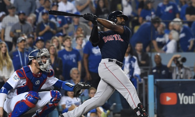 Jackie Bradley Jr. Not in the Red Sox Lineup for World Series Game 4