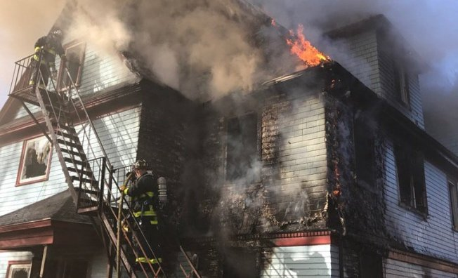 5 Displaced in Dorchester 4-Alarm Fire