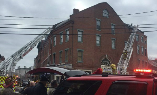 Historic Building Severely Damaged in Fire