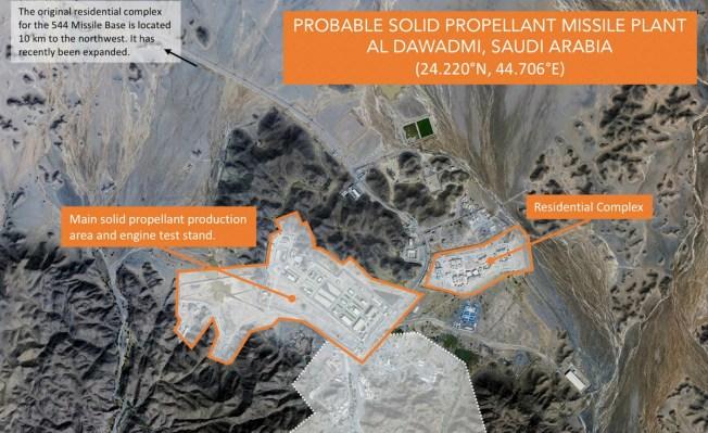 Experts, Images Suggest a Saudi Ballistic Missile Program
