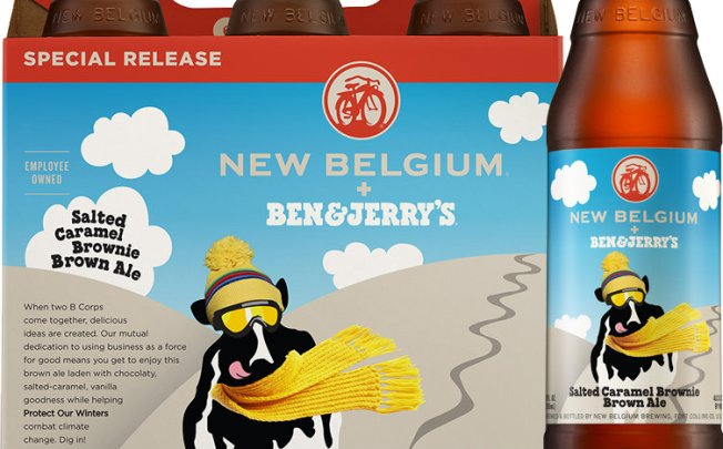 Ben & Jerry's, Craft Brewer Announce Ice Cream-Flavored Beer