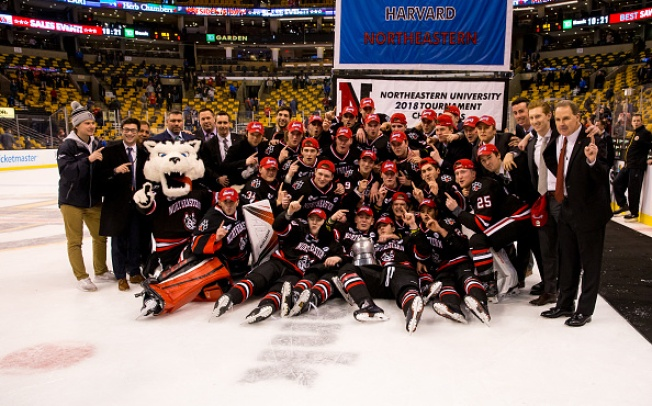 Northeastern University Claims 1st Beanpot in 30 Years, Beating Boston University 5-2