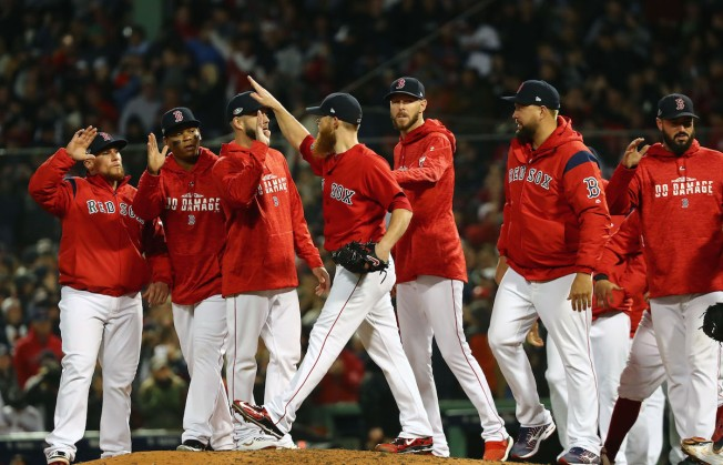 5a976a2fa Sale Strong as Red Sox Beat Yankees 5-4 in ALDS - NECN