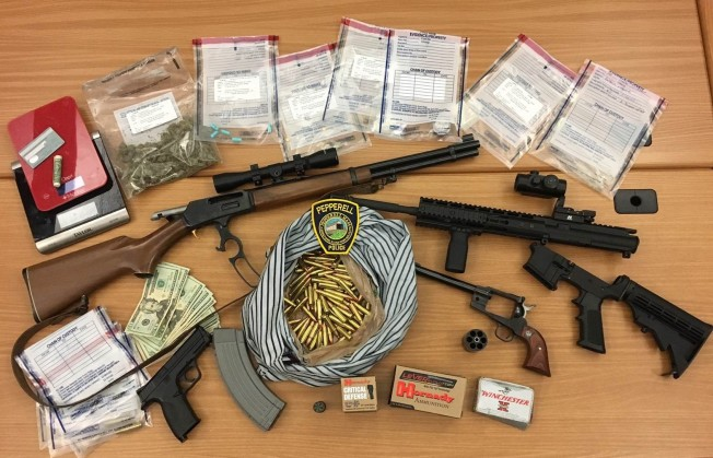 Pepperell Teen Arrested on Weapons, Drug Charges