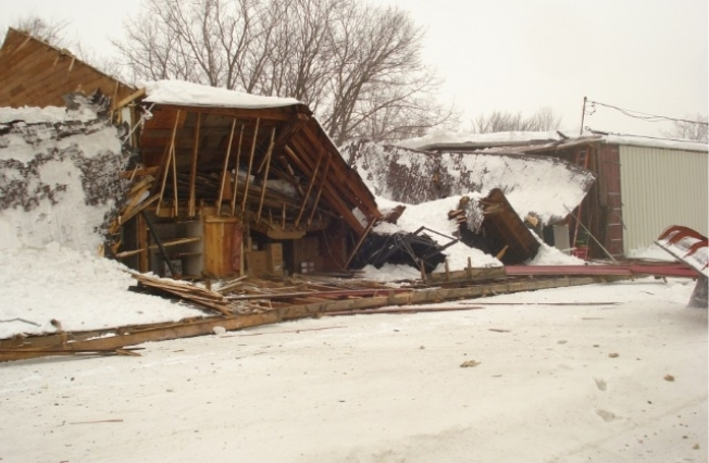 Slideshow: Roof Collapses