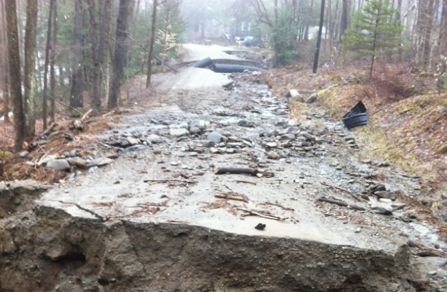 Flooding Closes Numerous Roads in Vermont
