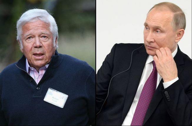 Pats'  Kraft Has Won 5 Super Bowl Rings, But 1 Belongs to Putin