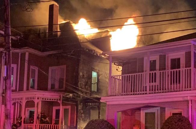 Crews Respond to 3-Alarm Fire in Waltham