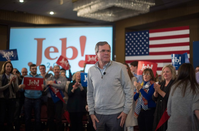 Jeb Bush Speaks in N.H.