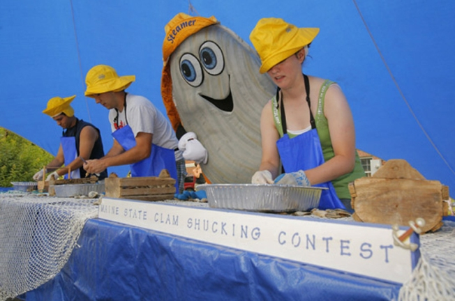 Yarmouth Clam Festival Celebrates Summer, Bivalves in Maine