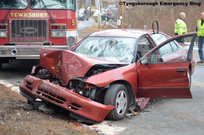 PD: Woman Dead in Car Crash