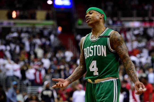 'They Were Very Physical': Isaiah Thomas Lobbies for Calls With Celtics-Wizards Series Tied