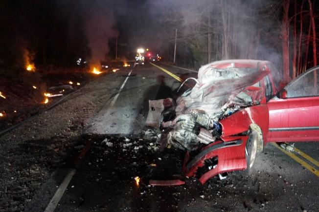 Massachusetts Man Dead In High-Speed Crash