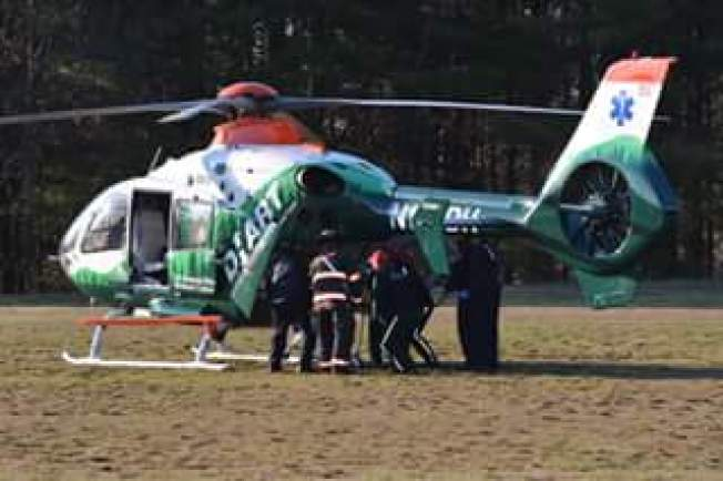 Man in Serious Condition After Falling 60 Feet From Tree