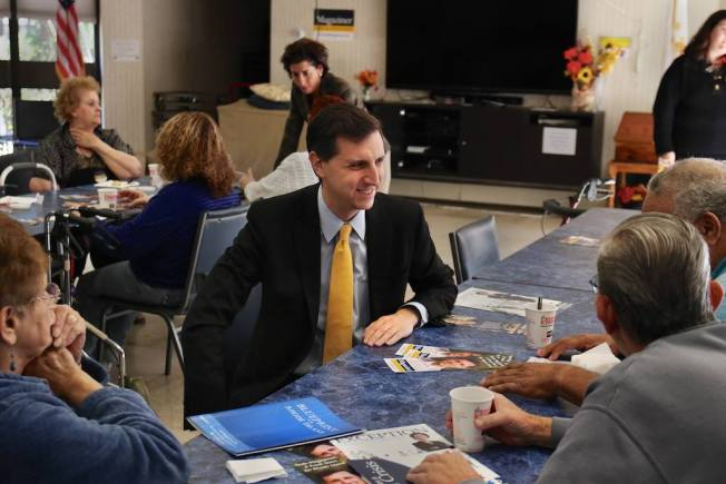 Newcomer Magaziner Wins RI Treasurer Race