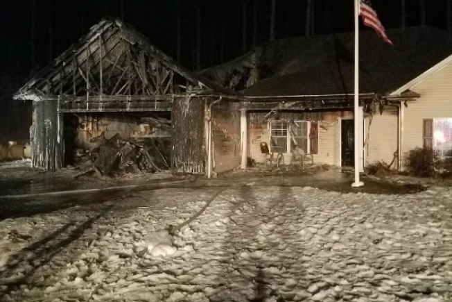 Town Rallies Behind Disabled Veteran After Fire Destroys Home