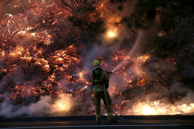 """Fire Danger Continues; Rare """"Critical"""" Conditions in Forecast"""
