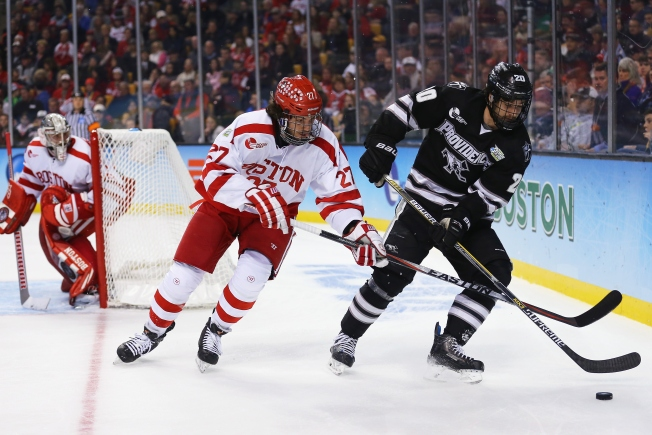 Friars Top BU in NCAA Hockey Championship