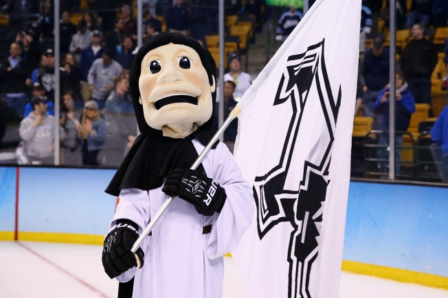 Rowdy Fans Celebrate Providence College Friars' 1st National Hockey Title