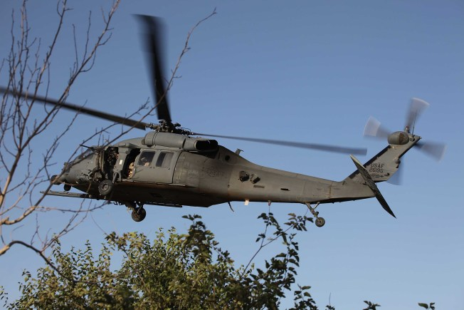 National Guard Helicopter to Help Fight Brush Fire
