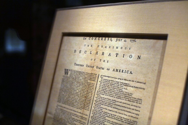 $1.2M Copy of Declaration of Independence to Be Displayed for the First Time in Over 20 Years