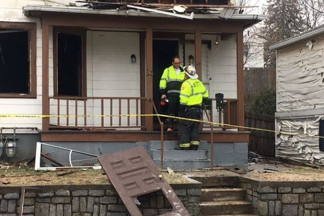 Rhode Island Firefighter Injured After Falling Through Floor During Blaze