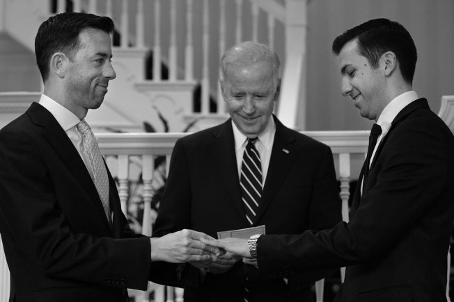 Vice President Joe Biden Officiates Same-Sex Wedding
