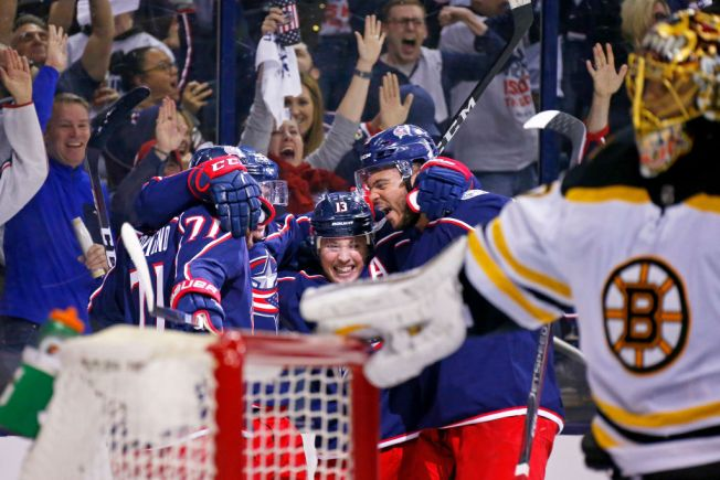 Bruins Fall to Blue Jackets in Game 3