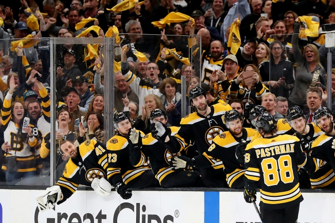 Bruins Move One Win From East Finals