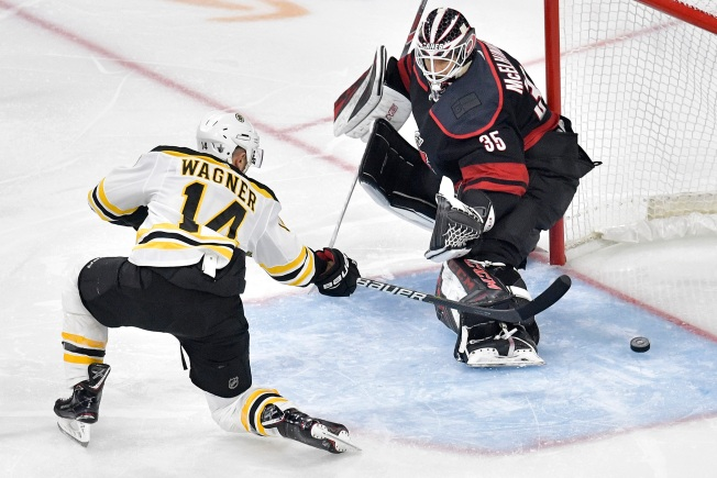 Bruins Hold Off Hurricanes, Take 3-0 Series Lead