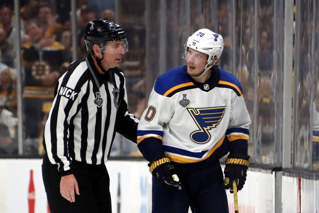Blues' Oskar Sundqvist Suspended for Game 3 of Stanley Cup Final