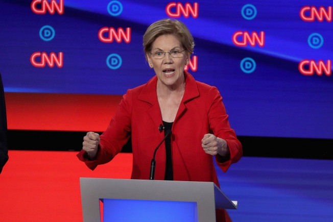 Sen. Warren Promises Mass. Democrats She'll Focus on the Issues