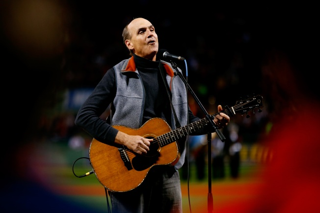 James Taylor Announces Summer 2017 Tour of 4 Baseball Parks