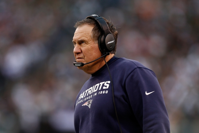 Patriots Coach Bill Belichick Takes Team Bowling