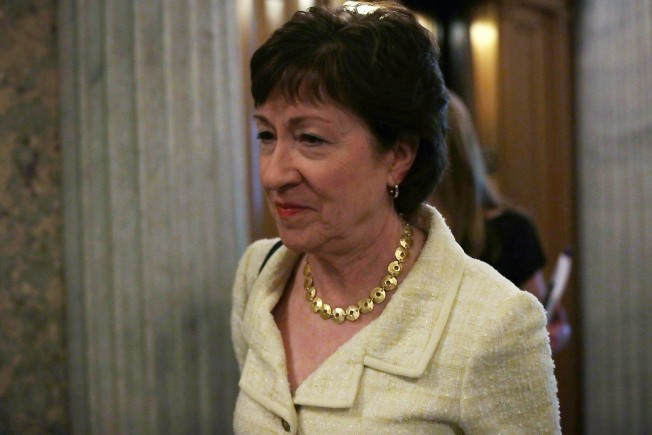 Sen. Collins Says Volume of Calls Overwhelming Staff