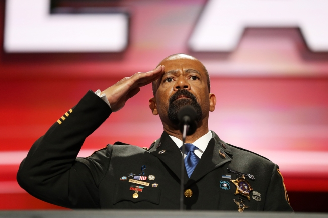 Sheriff David Clarke has some freaky Twitter likes