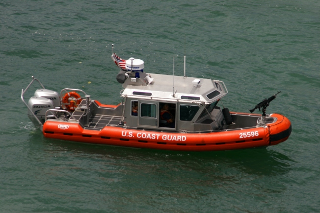 Coast Guard Suspends Search for Possible Person in the Water After Swamped Boat Found