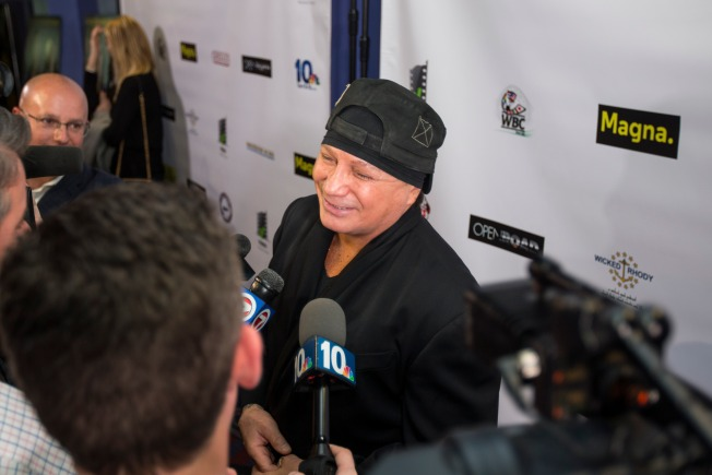 Retired Boxer Vinny Paz Wanted for Alleged Assault on Man in Providence