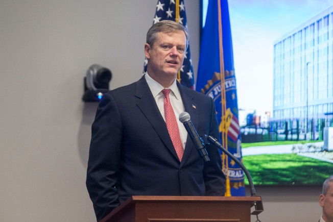 Mass. Gov. Baker: 'I Certainly Don't Want to See Roy Moore Win' Alabama Senate Race