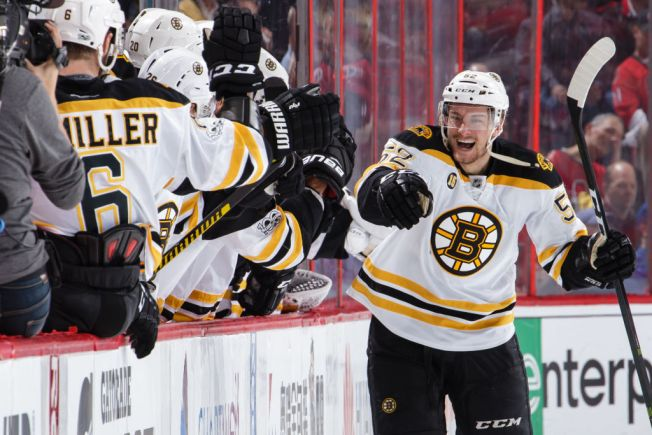 Bruins Win Game 5 in 2nd OT to Extend Series