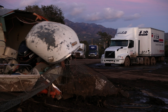 Rescuers Battle to Find Survivors of California Mudslides
