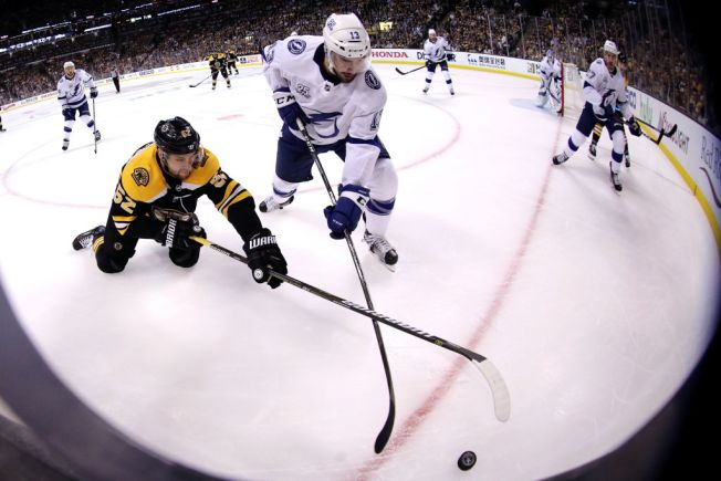 Bruins Lose to Lightning in Overtime