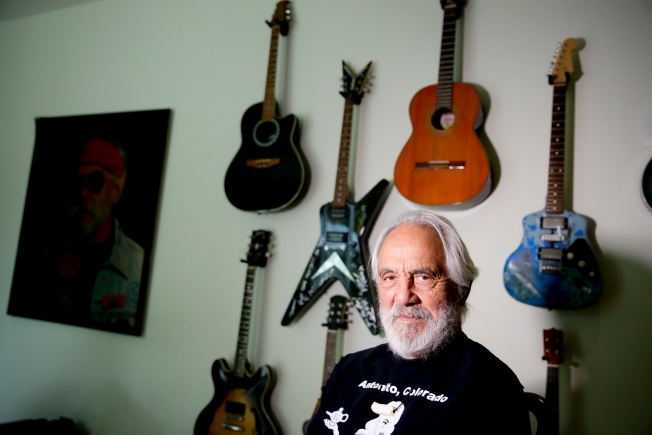 Still Smoking and Still Joking, Tommy Chong Views Life at 80