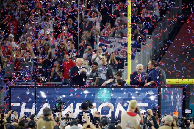 Patriots Fans Celebrate 3-28 Day