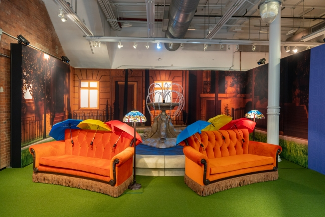 The One Where the 'Friends' Pop-Up Experience Came to Boston