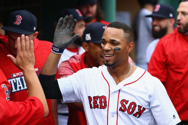 Boston's Xander Bogaerts Hurts Ankle Sliding Into Dugout