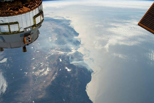 [NATL-LA GALLERY UPDATED 10/28] Smoke and Fire From Space: Wildfire Images From NASA Satellites