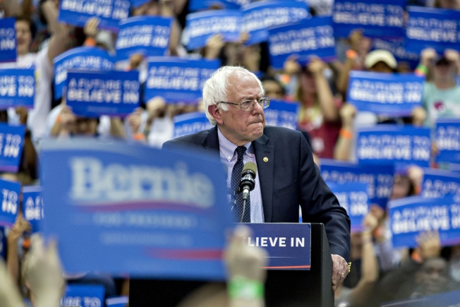 Sanders to Campaign in New England on Monday: Sources
