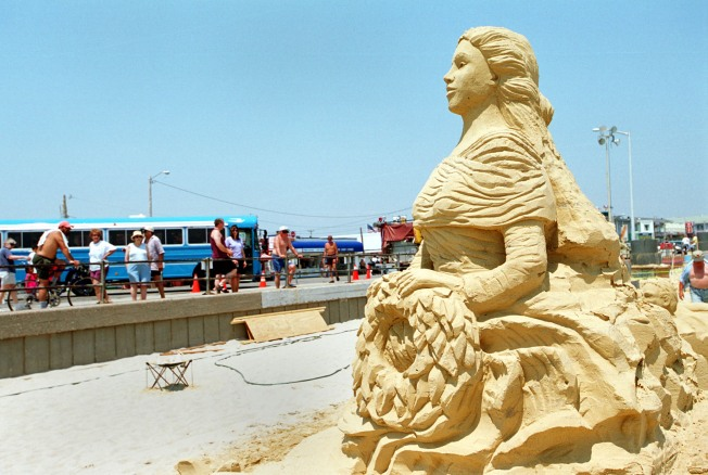 15th Annual Sand Sculpting Competition Wraps Up