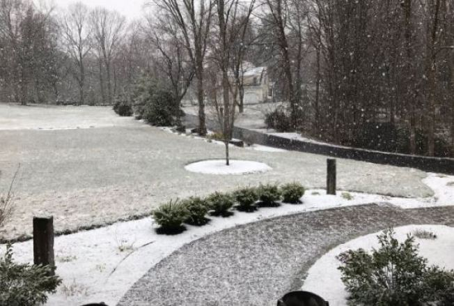 'This Is Getting Old': New Englanders React to Mid-April Snow